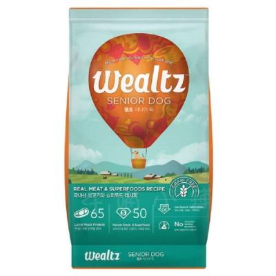 Wealtz 維爾滋 天然無穀寵物糧 中高齡犬食譜 6kg