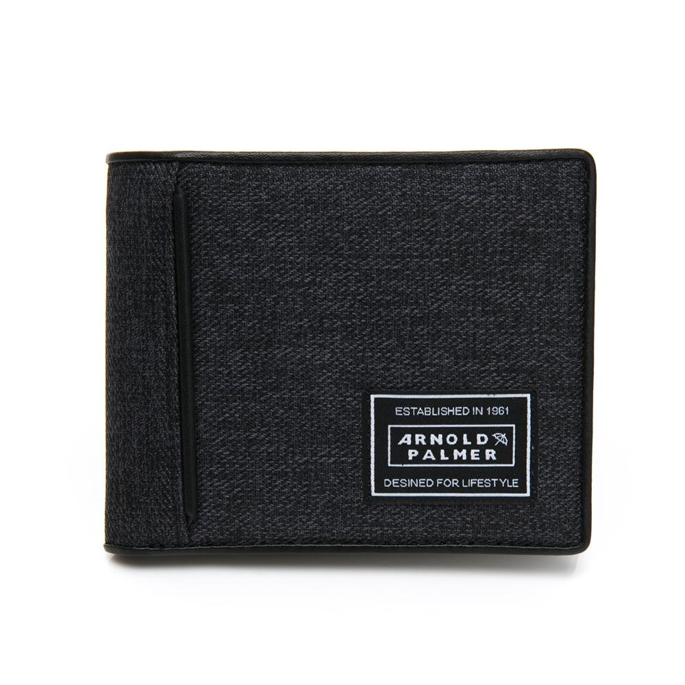 Arnold Palmer- 基本短夾附零錢袋  ENERGY活力系列 -灰色