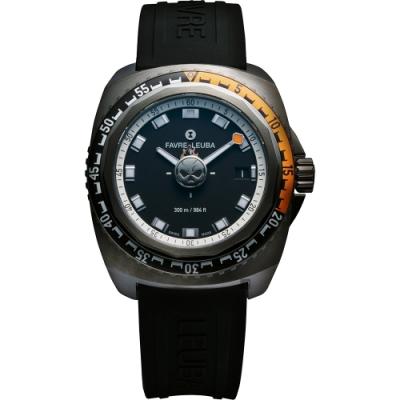 FAVRE-LEUBA 域峰 Raider Deep Blue 惡靈戰警限量潛水機械錶 00.10106.09.91.31