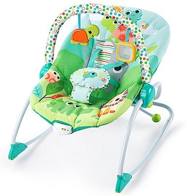 【麗嬰房】Kids II - Bright Starts 歡樂家族搖搖椅玩具組