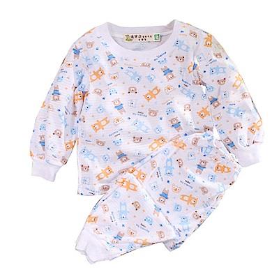 印花薄長袖居家套裝 k50682 魔法Baby