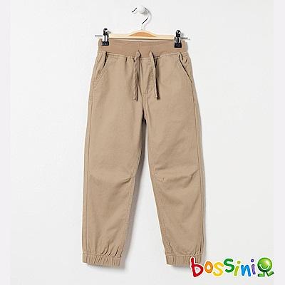 bossini男童-輕鬆束口長褲04卡其