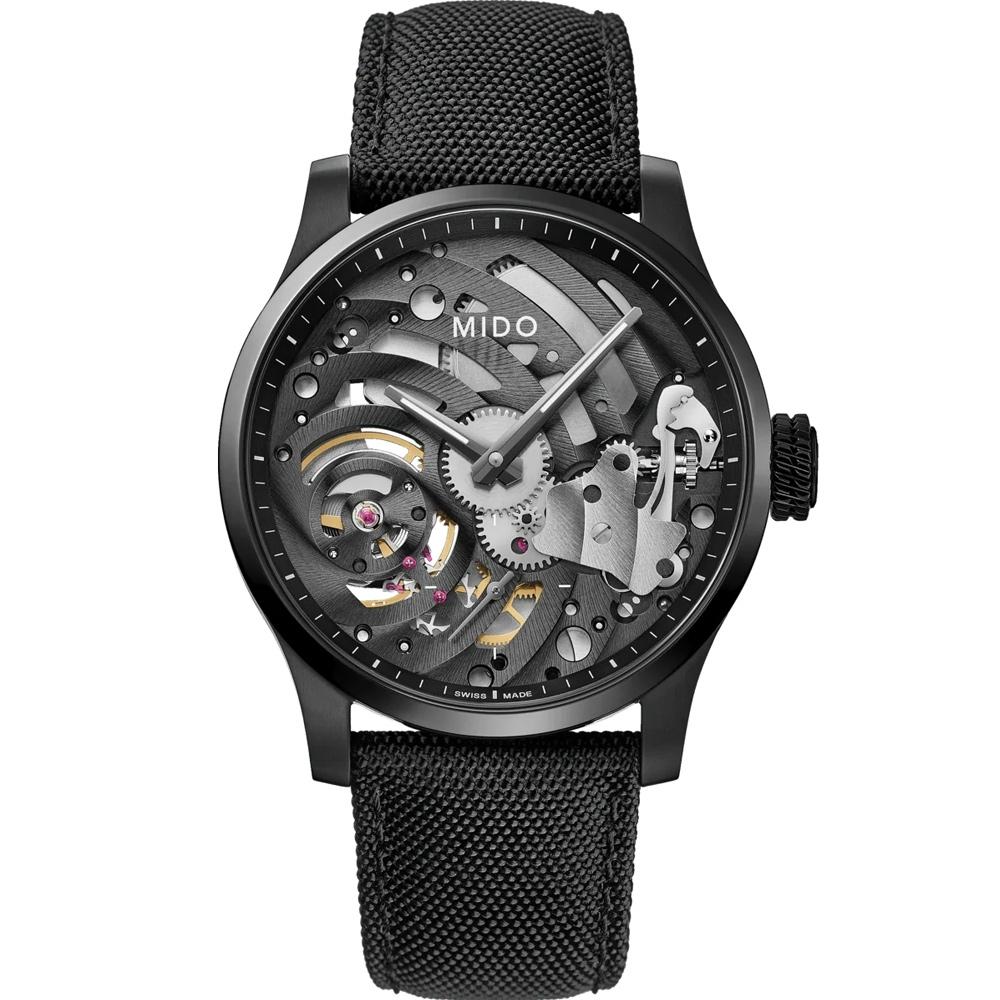 MIDO 美度 Multifort 手上鍊鏤空限量機械錶(M0326054741000)44mm
