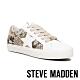 STEVE MADDEN-SIENNA 時尚蛇紋拼接星星皮質厚底休閒鞋-蛇紋咖色 product thumbnail 1