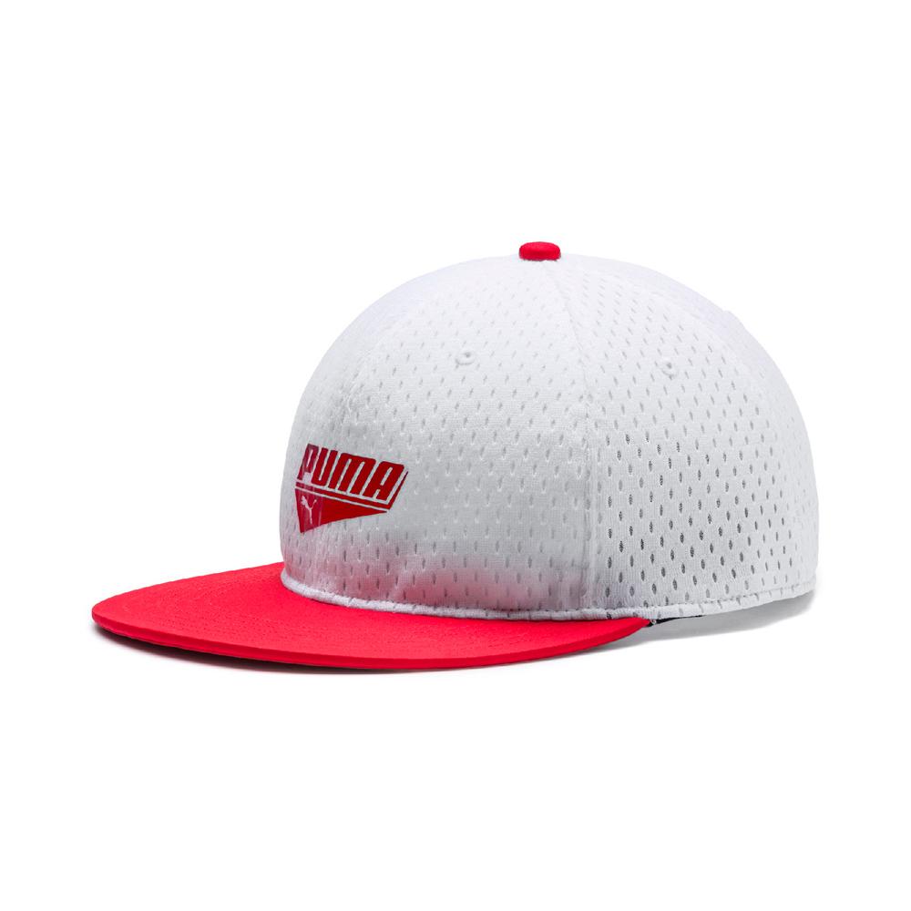 PUMA-男女基本系列蓋帽-白色