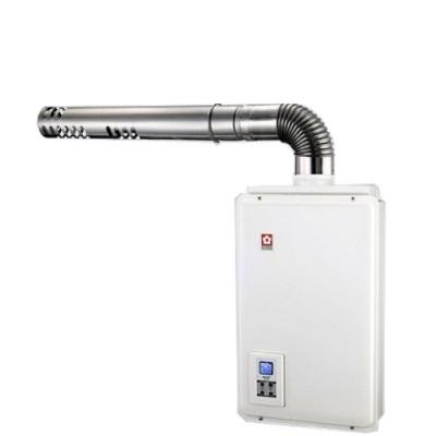 (全省安裝)櫻花16公升強制排氣熱水器天然氣H-1680N
