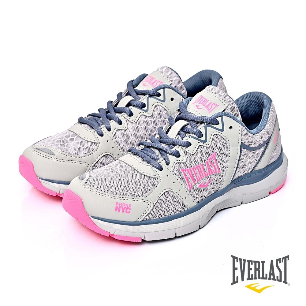 【EVERLAST】LIGHT WEIGHTED輕量慢跑鞋-灰色