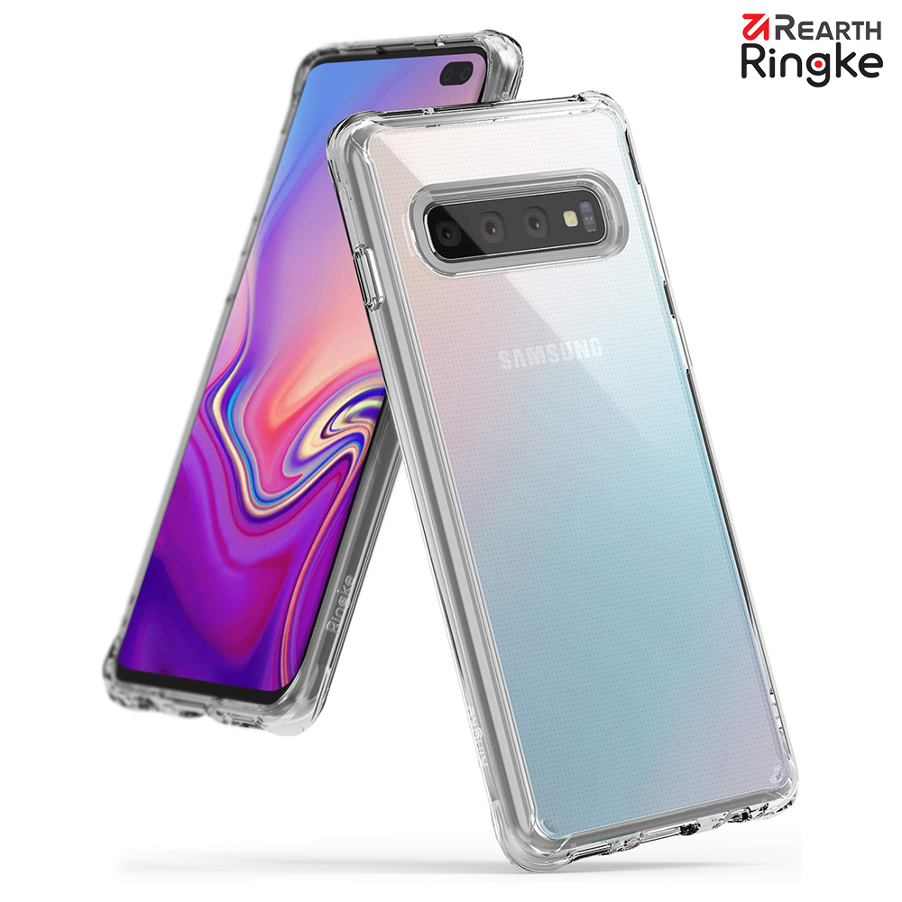 【Ringke】Galaxy S10 Plus [Fusion] 透明背蓋防撞手機殼