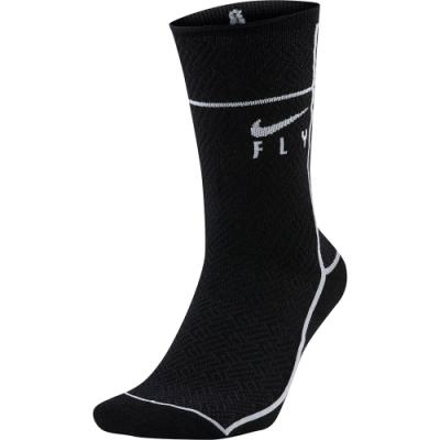 NIKE 襪子 籃球襪 長襪 運動襪 黑 2雙入 CU5855010 U SNKR SOX CREW SWOOSH FLY