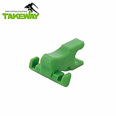 台灣製造Takeway鉗式運動夾R1用內爪T-IJ02小內爪(非售R1)適固定在圓柱圓形樹枝上