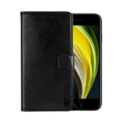 IN7 瘋馬紋 iPhone SE2/7/8 (4.7吋) 錢包式 磁扣側掀PU皮套 手機皮套保護殼