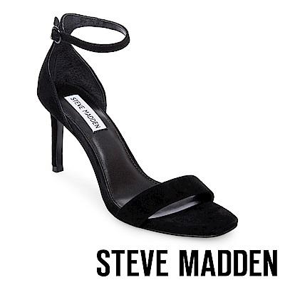 STEVE MADDEN-FAME 一字高跟涼鞋-黑色