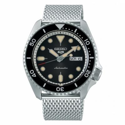 SEIKO 5 sport運動潮流機械腕錶/米蘭帶4R36-07G0D(SRPD73K1)