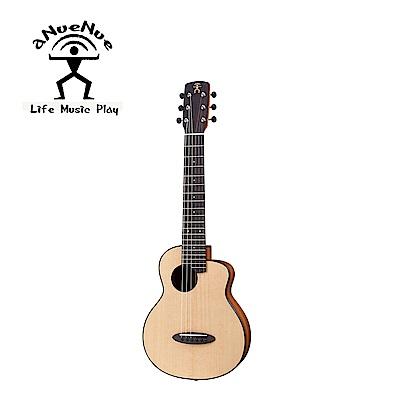 [無卡分期-12期] aNueNue S10E 羽毛鳥雲杉木電古典吉他