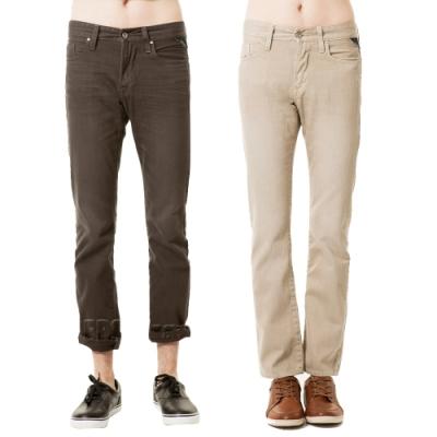 [時時樂限定]BRAPPERS 男款 小直筒褲(多款選)
