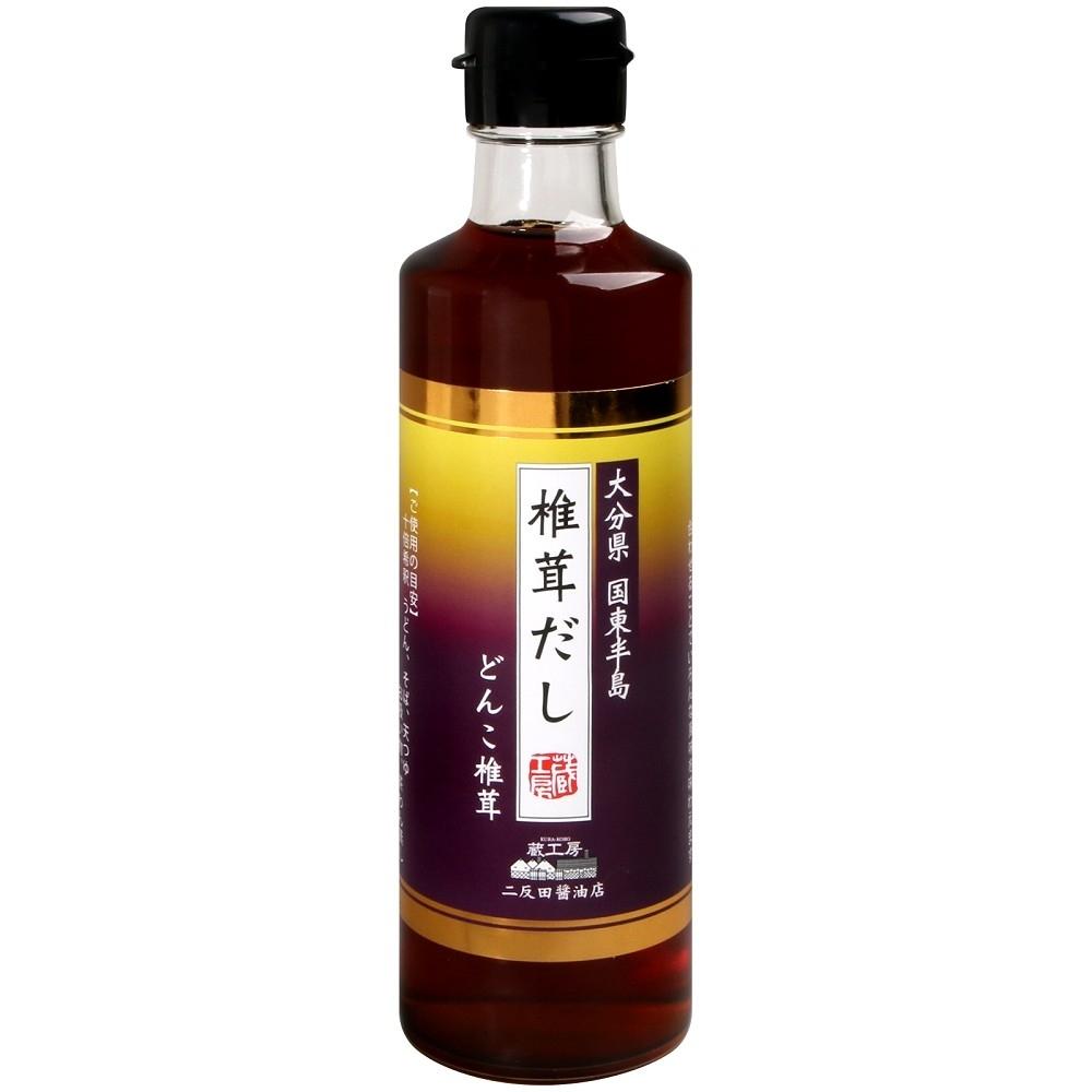 二反田醤油 大分香菇風味露(280ml)