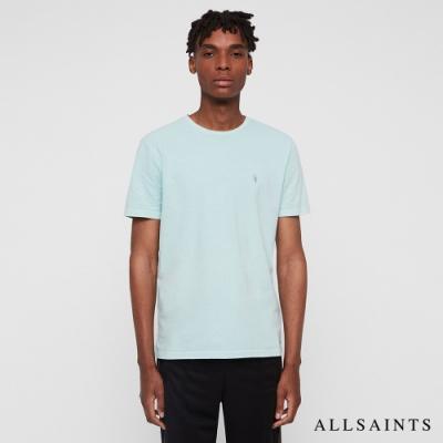 ALLSAINTS TONIC OSSAGE 漸層單色純棉短袖T恤-淡綠