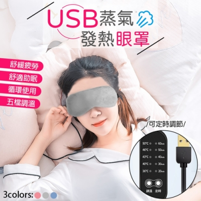 USB溫控蒸氣熱敷眼罩
