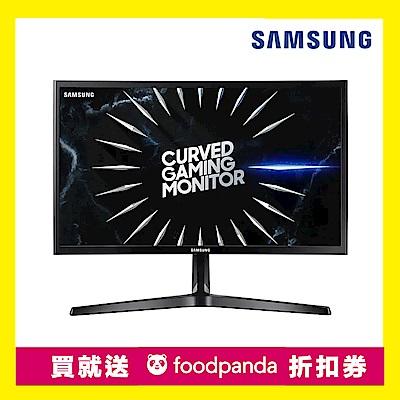 時時樂 Samsung C24RG50FQC 24型VA曲面電競螢幕