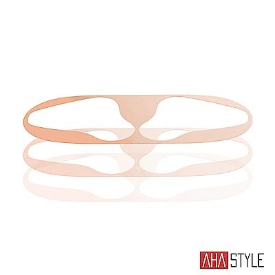 AHAStyle AirPods 鎳金防塵貼 一代二代有線版專用 玫瑰金兩組入