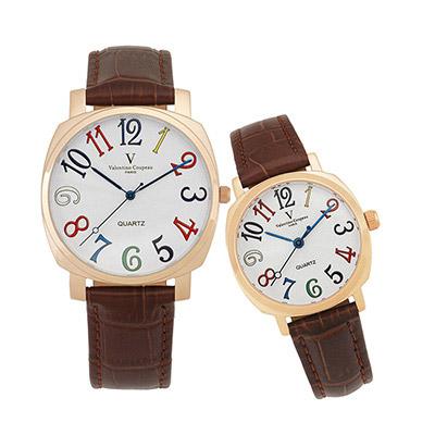 [雙11限定] Valentino Coupeau范倫鐵諾萊茵對錶-三色