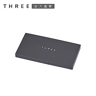 THREE 霧光立體粉盒