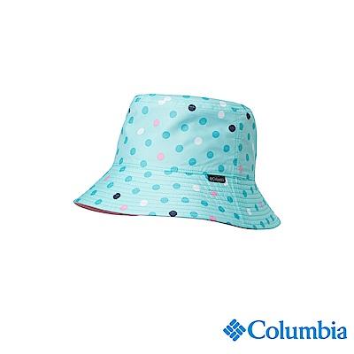 Columbia 哥倫比亞 兒童-UPF50兩面遮陽帽-淺藍UCY00750LB