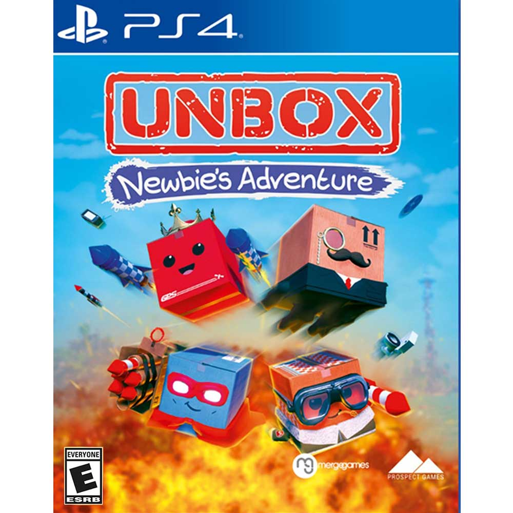 拆箱:新手冒險 Unbox: Newbie's Adventure- PS4 英文美版