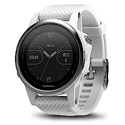 GARMIN fenix 5S 進階複合式戶外GPS腕錶 大理石白
