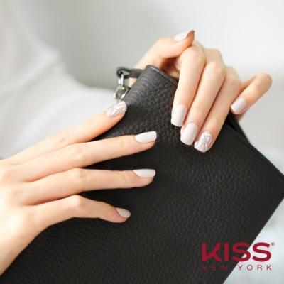 KISS New York-Press&Go頂級光療指甲貼片-煙燻馬賽克(KPNS05K)