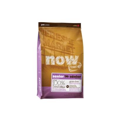 Now! 鮮肉無穀天然糧 老貓/減肥貓配方 16磅