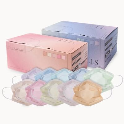 【一心一罩】Pantone潮色口罩2盒組(30入/盒x2│易廷製造│成人醫用口罩)