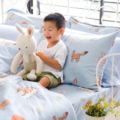 OLIVIA  童話星球 藍  標準雙人床包被套四件組 230織天絲TM萊賽爾 台灣製