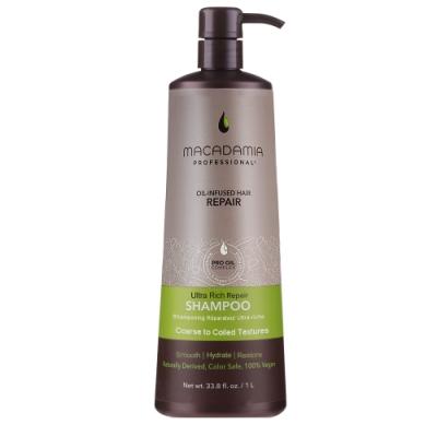 Macadamia Professional 瑪卡奇蹟油 超潤澤髮浴 1000ml(新)