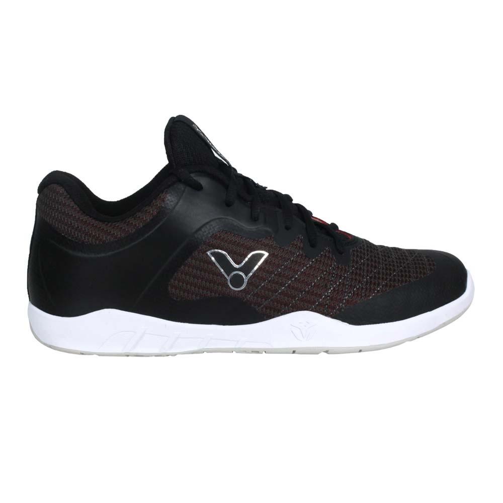 VICTOR 男羽球鞋-訓練 運動 勝利 寬楦 3E 內置中底 VG1-C 黑銀紅