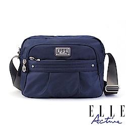 ELLE Active 優雅隨行系列-側背包/斜背包-小-深藍色
