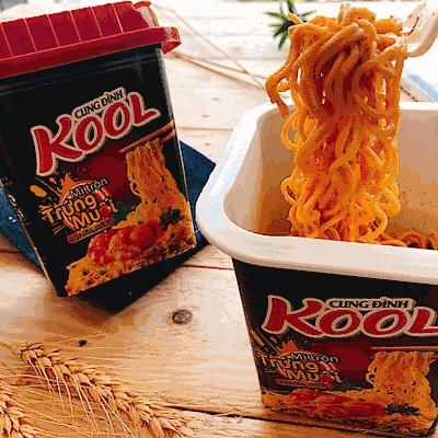 KOOL 鹹蛋黃鮮蝦風味炒麵(90g)