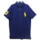 Ralph Lauren CUSTOM SLIM FIT刺繡數字3經典大馬短袖POLO衫-藍色S product thumbnail 1