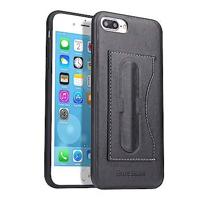 Fierre Shann 簡約系列 iPhone 7/8 Plus吋立架插卡單底...