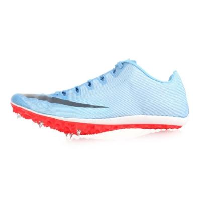 NIKE 男女 田徑釘鞋短距離 ZOOM 400 水藍白黑