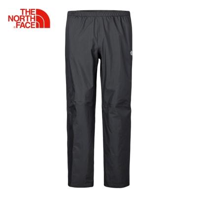 The North Face北面男款黑色DRYVENT防水透氣衝鋒褲|2SLIJK3