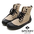 SPERRY 古著靴藝經典帆布復古靴(男)-卡其