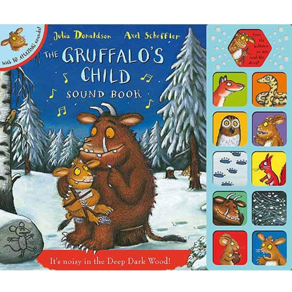 The Gruffalo's Child Sound Book 小古肥玀的探險故事有聲書