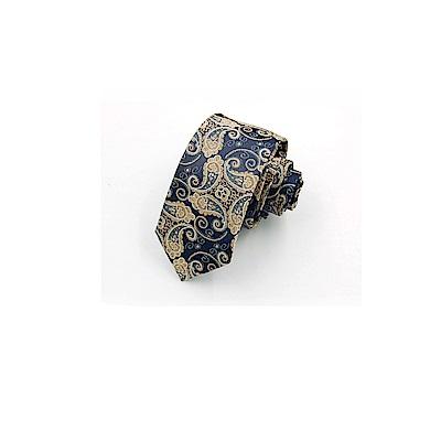 拉福   領帶6cm中窄版領帶拉鍊領帶(兒童皇龍)