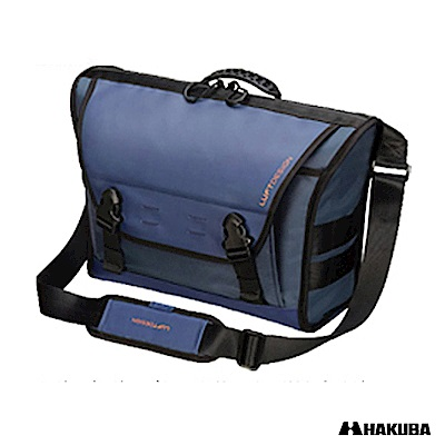 HAKUBA RESIST ZIP SHOULDER BAG防水相機包(藍)