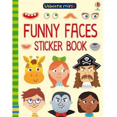 Mini Books Funny Faces Sticker Book 表情貼紙書