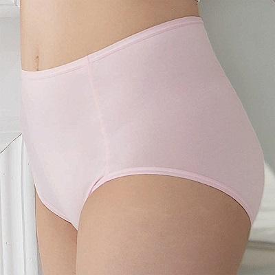 華歌爾-海藻冰涼M-3L高腰三角內褲(粉)涼感親膚-包臀透氣