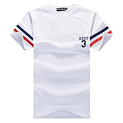 BuyGlasses 情侶美式棉質短袖T恤