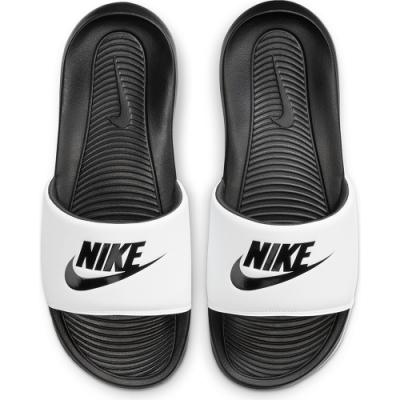 NIKE 拖鞋 運動 輕便 休閒  男女鞋 白黑 CN9675005 VICTORI ONE SLIDE