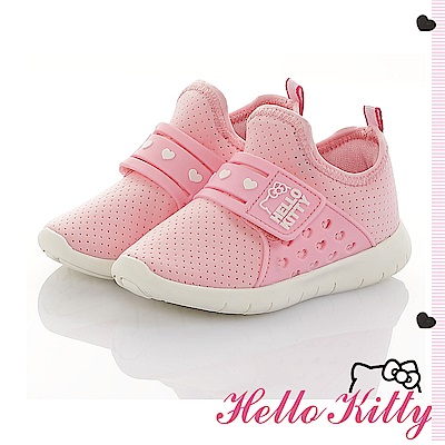 HelloKitty 旗艦款 輕量透氣減壓抗菌防臭休閒童鞋-粉